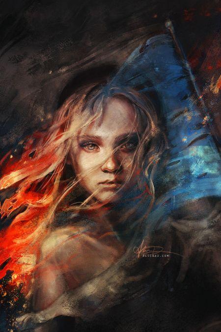 Alice X. Zhang alicexz deviantart pinturas de filmes séries Os Miseráveis de 2012