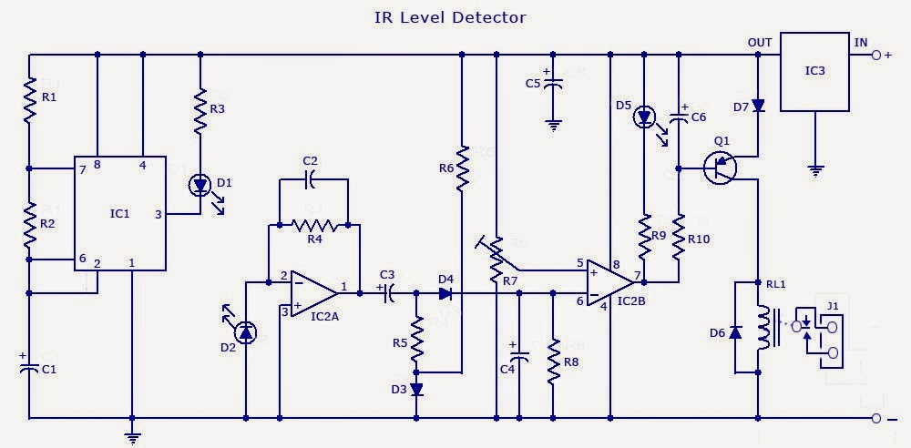 Circuit Wiring Solution  Infrared Ir Sensor Detector Circuit