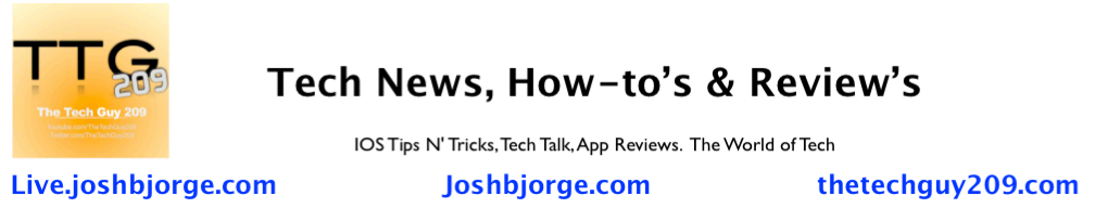 Tech News, How-to's & Review's