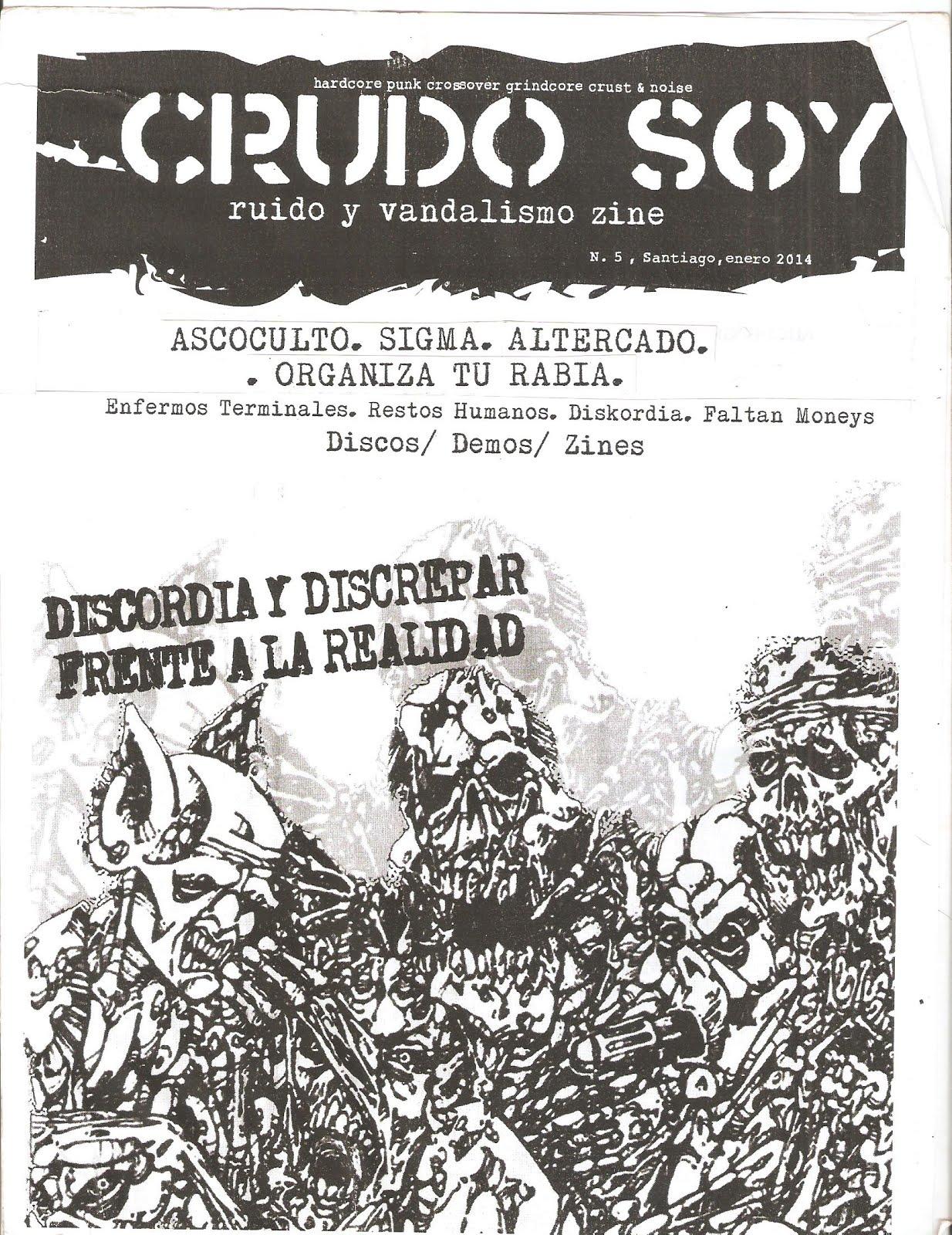 CRUDO SOY #5. Enero 2014