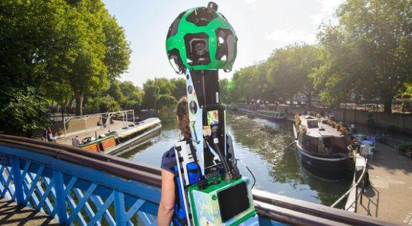 Google Street View Mulai Mengambil Gambar di Wilayah Inggris