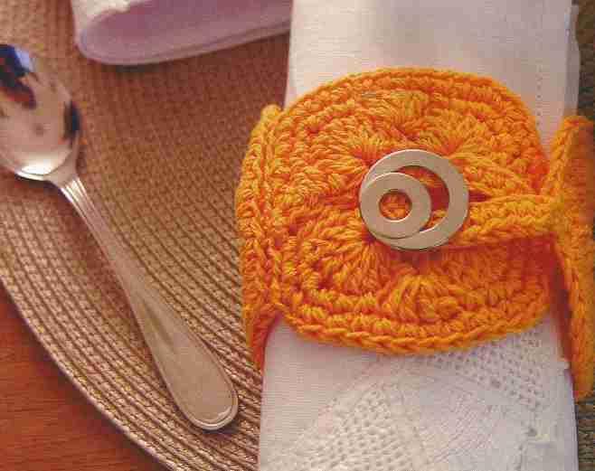 Servilletero a Crochet o Ganchillo