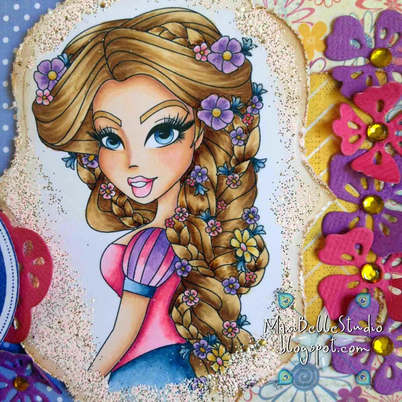 Sassy Studio Designs Sassy Rapunzel