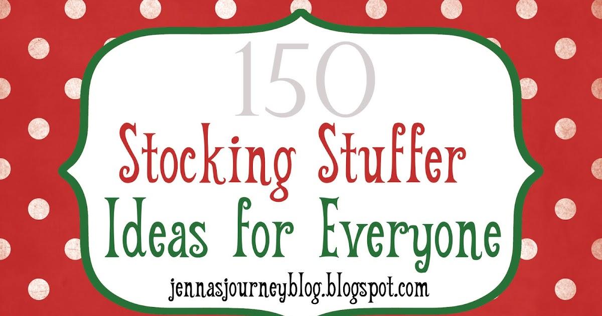 Christmas found 150 stocking stuffer ideas for Christmas stocking stuffers ideas for everyone
