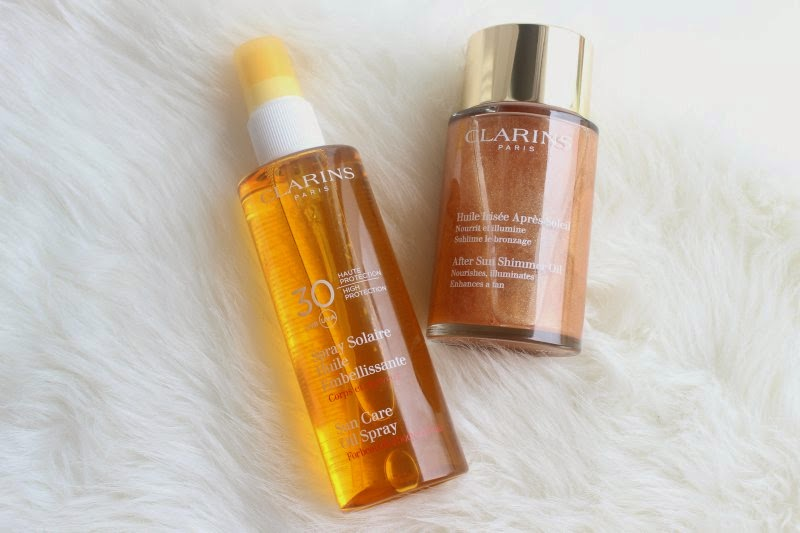 Clarins Skin Oils for Summer