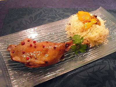 Cuisses de canard confites au four la recette facile par - Cuisiner des cuisses de canard confites ...