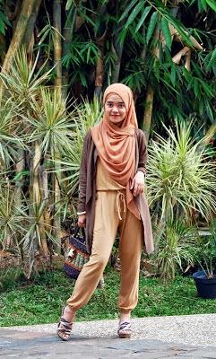 tutorial Style hijab jilbab untuk remaja