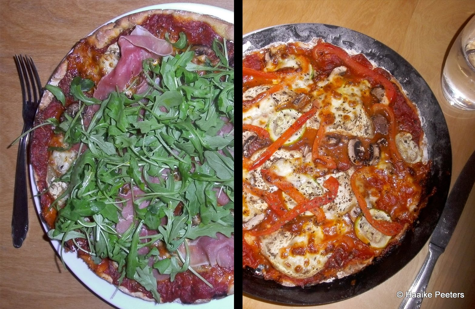 Veggie pizza (Le petit requin)