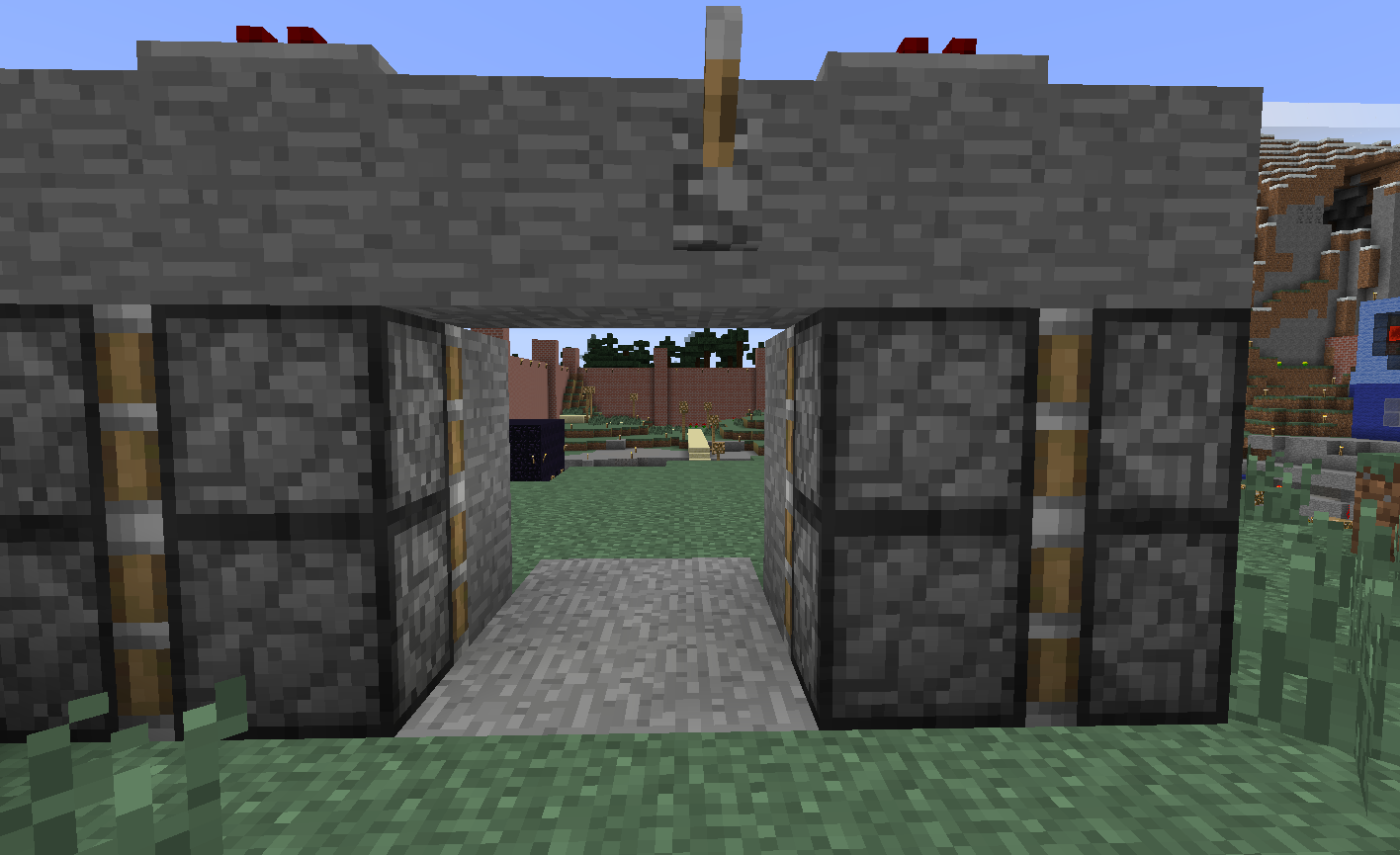how to make a redstone circuit go on and off