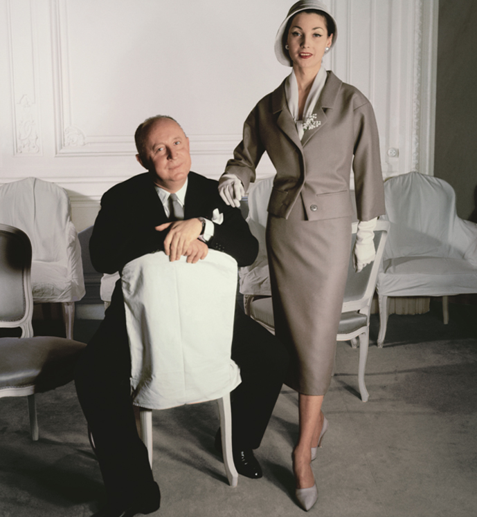 Christian Dior & Renee photographed by Henry Clarke / Monsieur Dior: Once Upon a Time / Book review / fashion books / via fashioned by love british fashion blog
