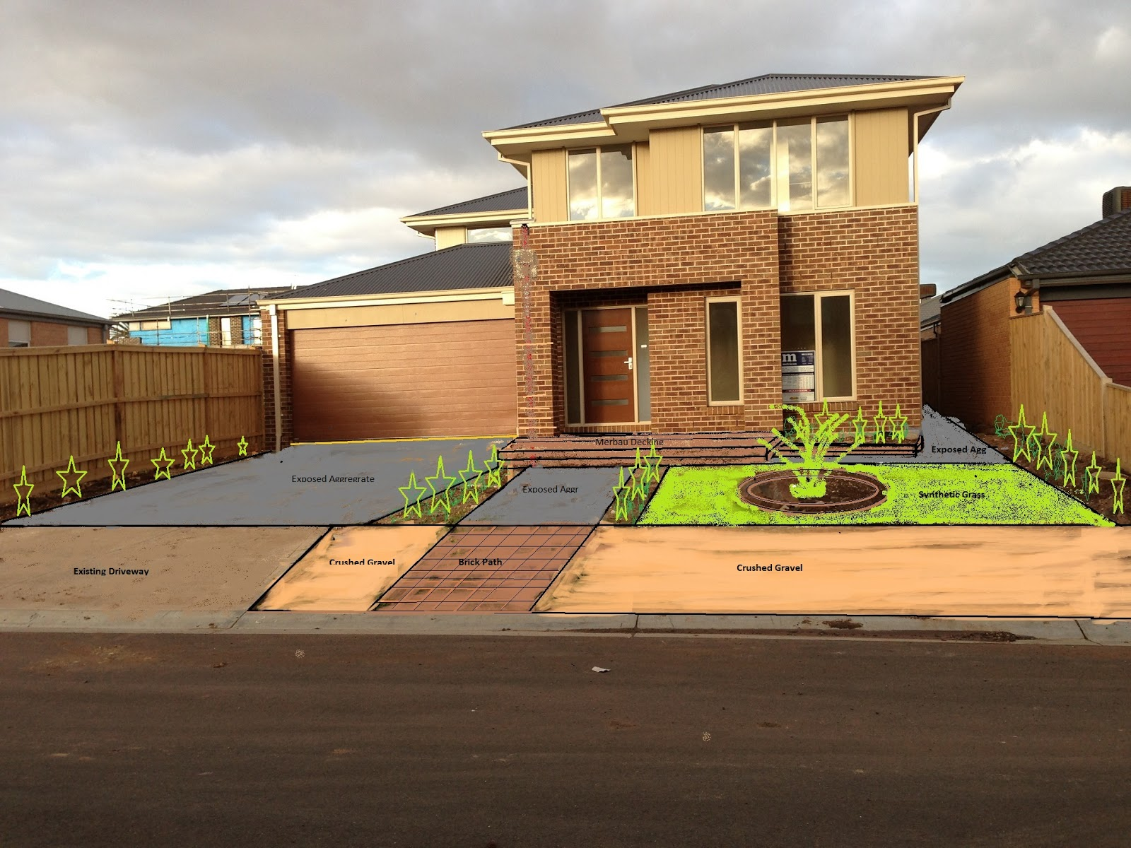 Metricon - Winchester 28 : Landscaping Ideas and Driveways: Working ...