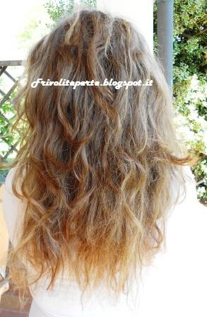 Tagliare i capelli scalati da soli