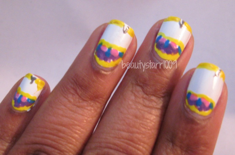 I\'m just me...ChiChi: Disney Nail Art Challenge - Beauty and the Beast
