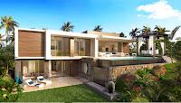 azuri mauritius real estate front view