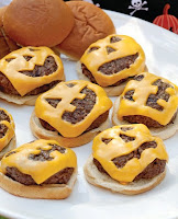 hamburguesas para halloween