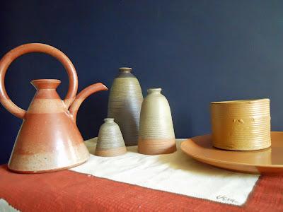 studio pottery vases