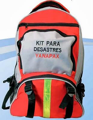 kit para terremotos