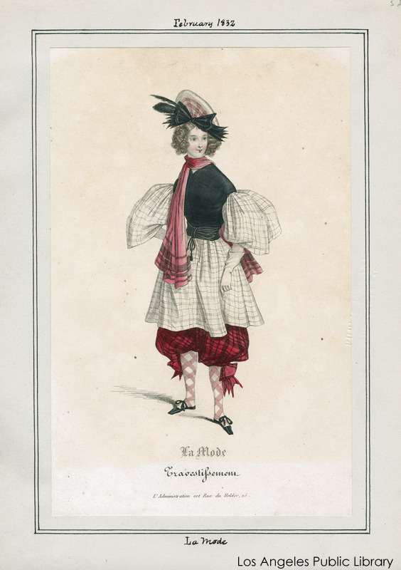 Two Nerdy History Girls: Fashion Goes Wild: Fancy Dress in the 1830s
