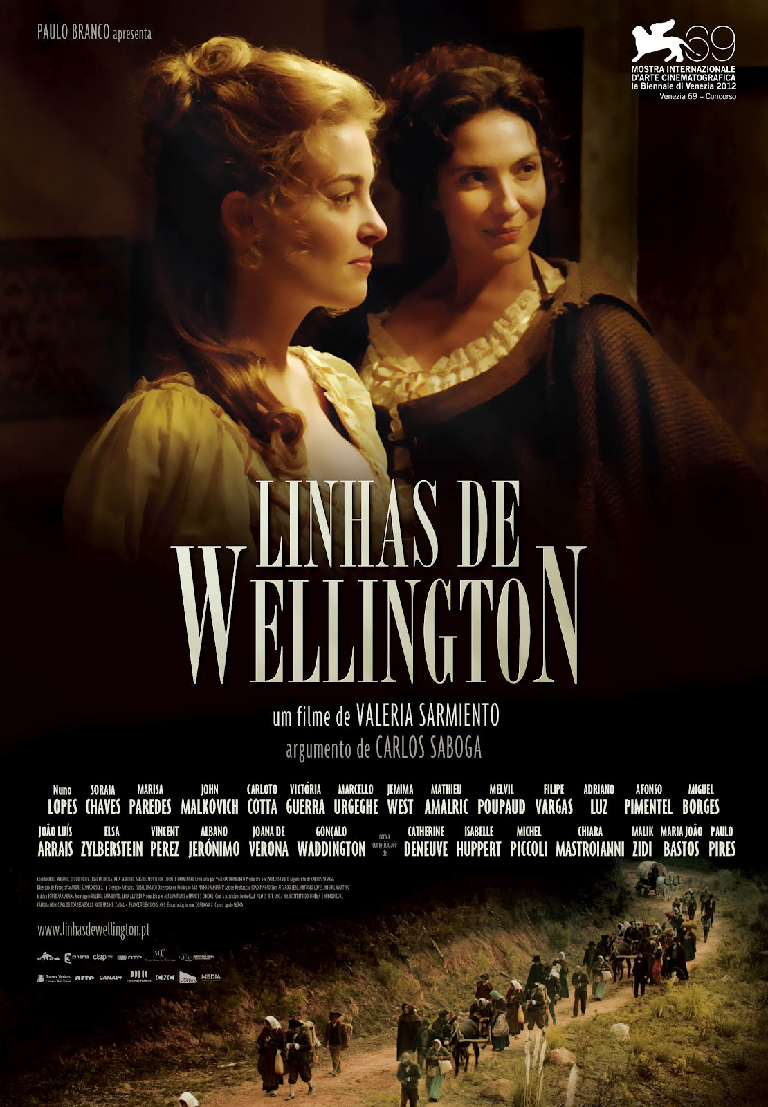 Linhas de Wellington movie