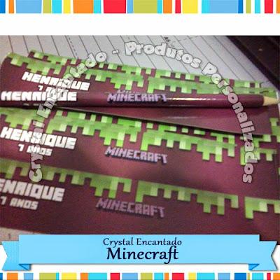 Minecraft - lapis personalizado