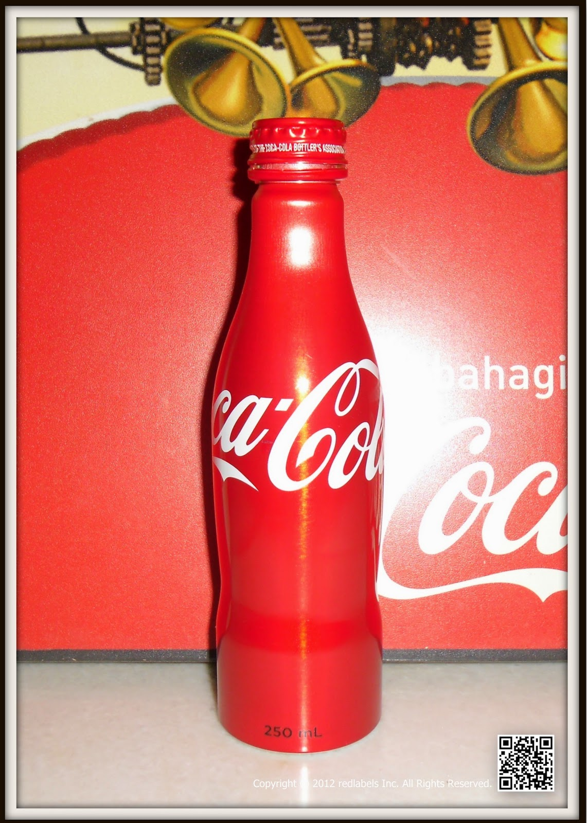 Aluminum Bottle Collector Club Coca Cola 1st Aluminum Bottle