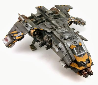 Fire Raptor para los Marines Espaciales
