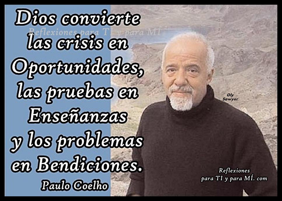 Un pensamiento de Paulo Coelho Paulo