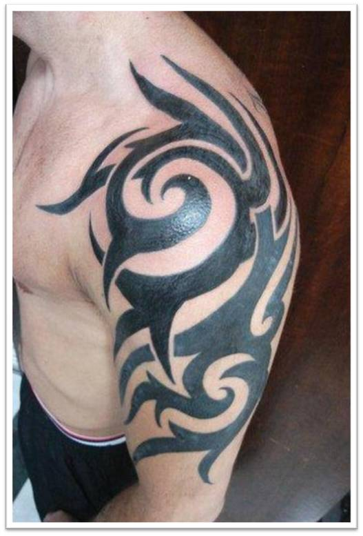 Tribal tattoos tribal tattoos for men for Tribal half sleeve tattoos
