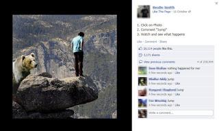 Penipuan Like Foto di Facebook
