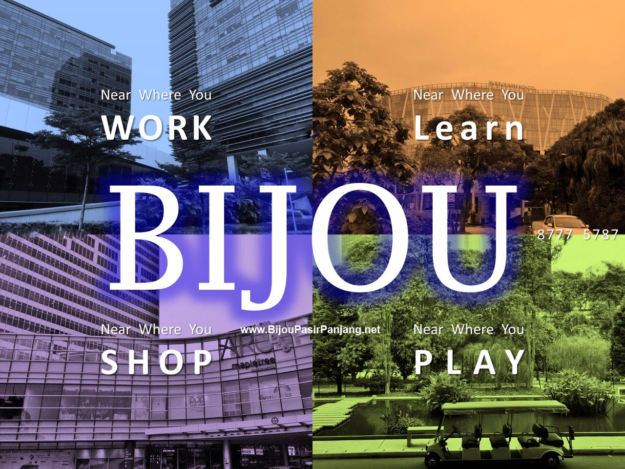 BIJOU @ Pasir Panjang - a place to work and live and shop