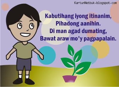 buhay ay pagtatanim cartoon tagalog