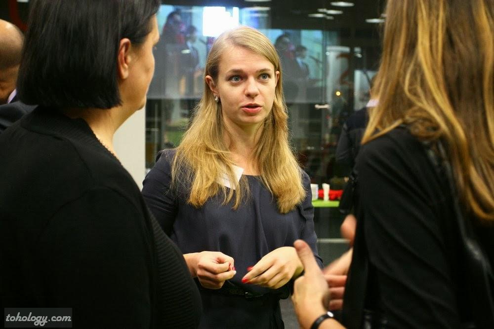 Elena Breus, Coca-Cola Hellenic, PR & communications manager in St. Petersburg