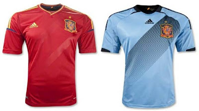 jersey kit spain euro 2012