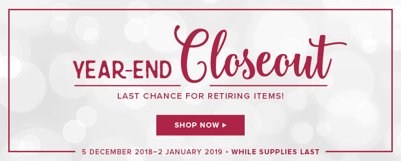 YEAR END CLOSE OUT SALE