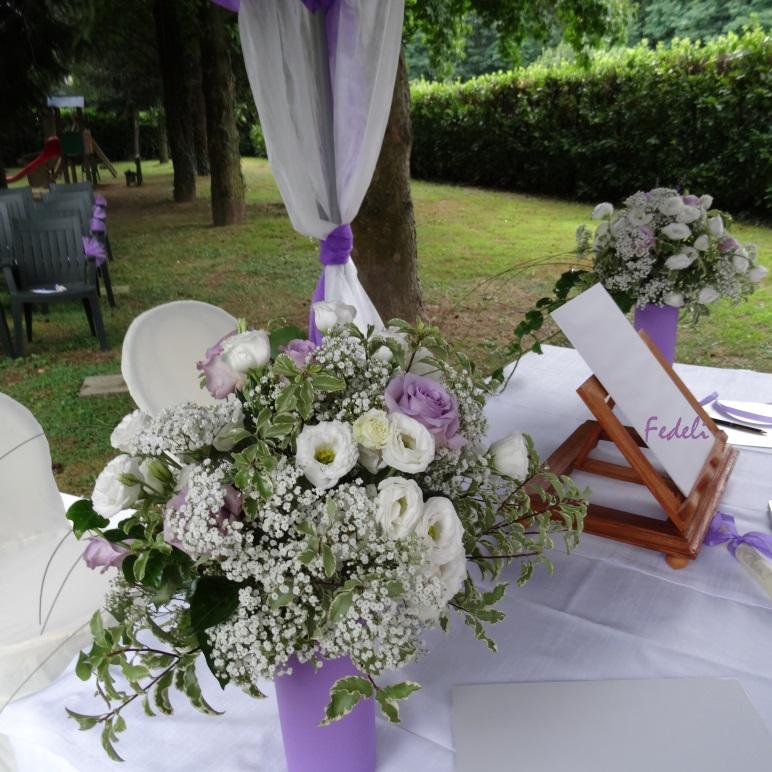 Matrimonio In Glicine : Fiori fedeli laboratorio artigianale matrimonio bianco