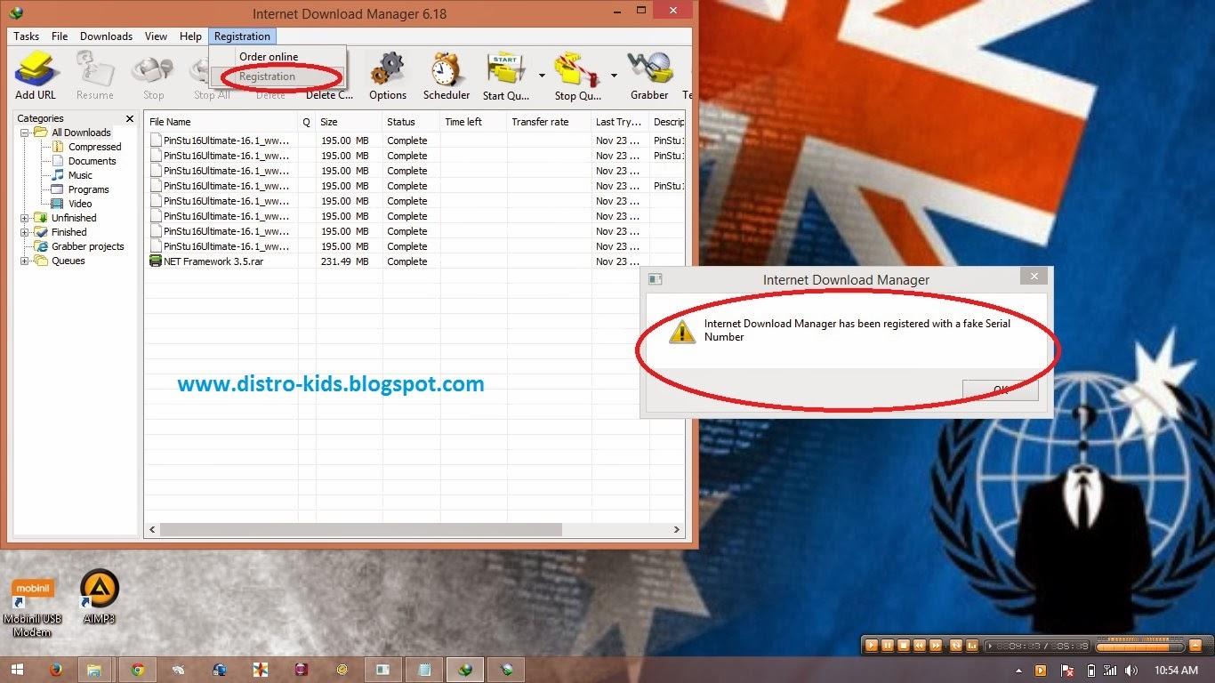 Cara mengatasi IDM yang fake serial number ~ Gudang Ilmu ...