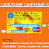 Credit Card/Debit Card fraud Rackets-How They work and Safety measures