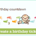 Mostrar no blog quantos dias para o nascimento do Bebê