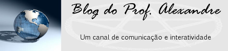 Blog do Prof. Alexandre