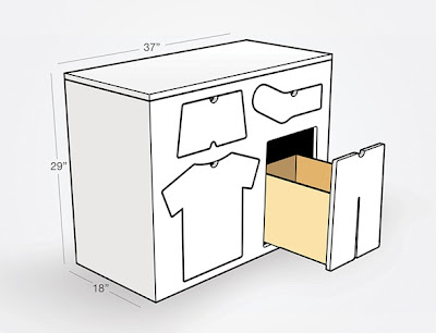 diseño armario niño
