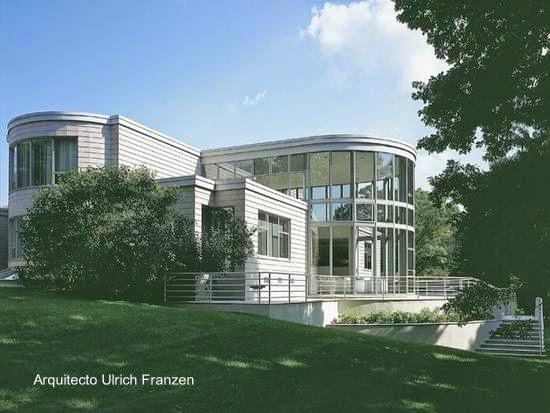 Residencia neomoderna en Connecticut, Estados Unidos 1992