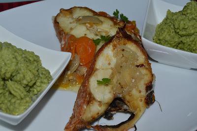 Red fish assado no forno