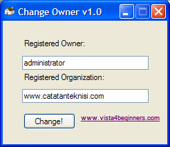 change owner tool