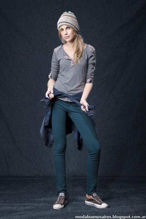 Moda urbana jeans Wupper otoño invierno 2014.
