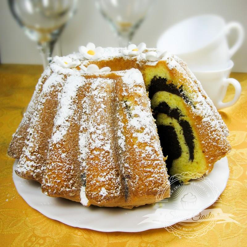 Babka Pomarańczowo Kakaowa świat Ciasta