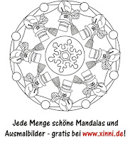 Mandalas Zum Ausmalen Schne Mandala Malvorlagen  - mandala winter malvorlagen