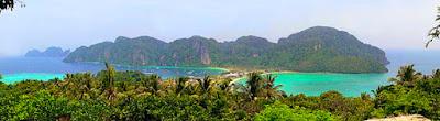 Phi Phi  Island Panorama