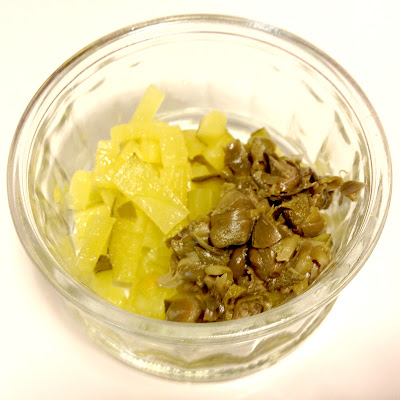 capers pickled gherkin