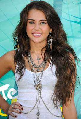 Miley Cyrus Layered Sterling Necklace