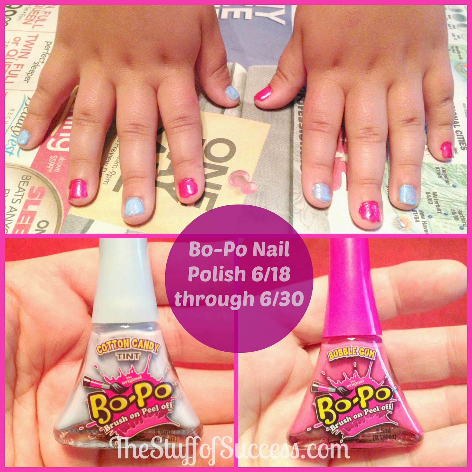 Bo-Po Brush On Peel Off Nail Polish Giveaway